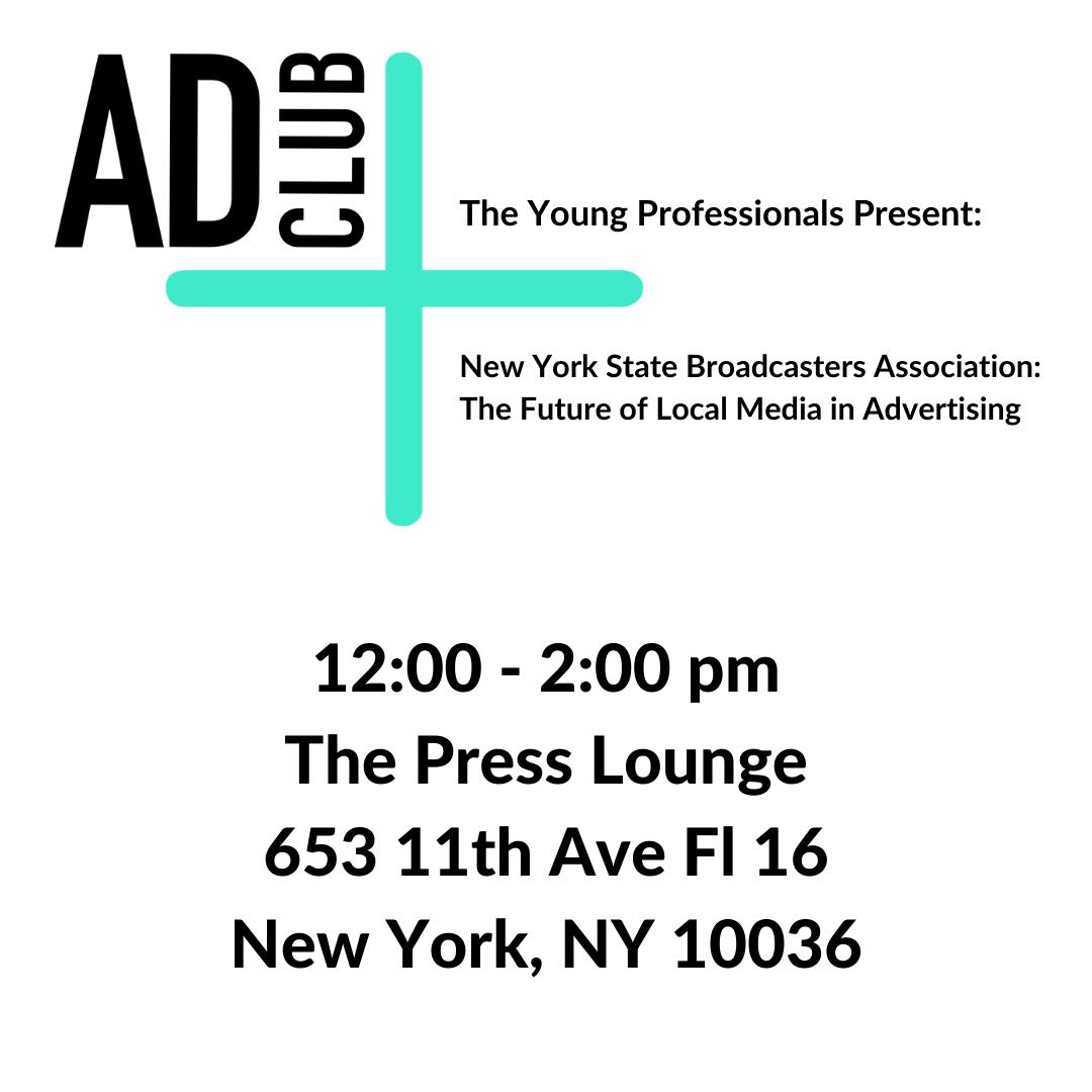 1200 - 200 pm The Press Lounge 653 11th Ave Fl 16 New York, NY 10036